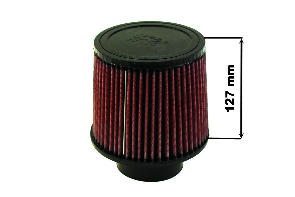 Filtr stożkowy K&N RU-3570 60-77mm - GRUBYGARAGE - Sklep Tuningowy